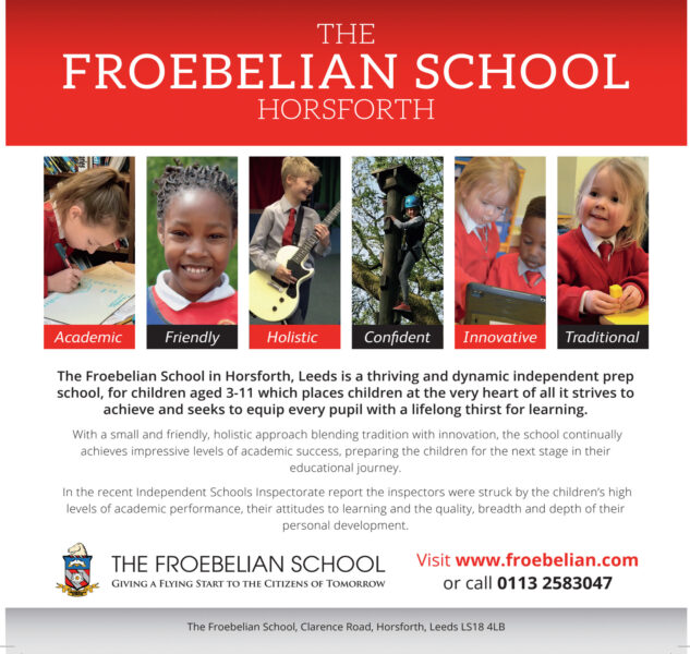 The Froebelian School, Horsforth, Leeds For Children Aged 3-11 Years