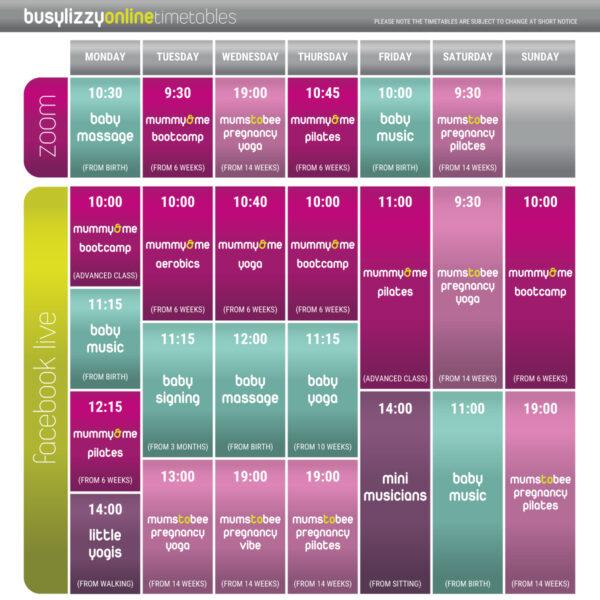 Busylizzy – Pregnancy & Postnatal Fitness Classes